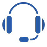 headset blue